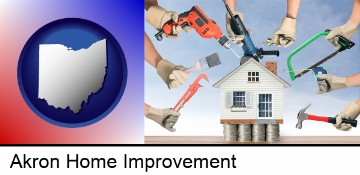 home improvement concepts and tools in Akron, OH