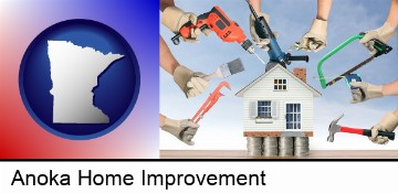 home improvement concepts and tools in Anoka, MN