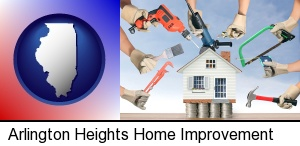 home improvement concepts and tools in Arlington Heights, IL