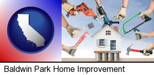 home improvement concepts and tools in Baldwin Park, CA