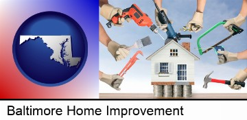 home improvement concepts and tools in Baltimore, MD