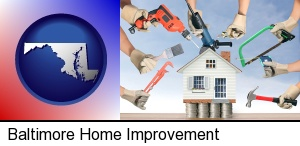 Baltimore, Maryland - home improvement concepts and tools