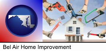 home improvement concepts and tools in Bel Air, MD