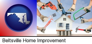 home improvement concepts and tools in Beltsville, MD