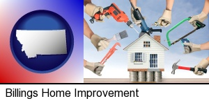 Billings, Montana - home improvement concepts and tools
