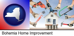 Bohemia, New York - home improvement concepts and tools