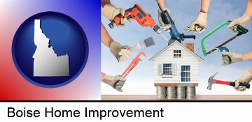 home improvement concepts and tools in Boise, ID
