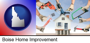 Boise, Idaho - home improvement concepts and tools