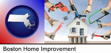 home improvement concepts and tools in Boston, MA