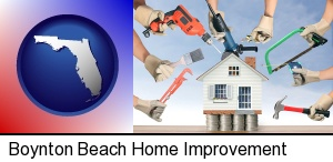 Boynton Beach, Florida - home improvement concepts and tools