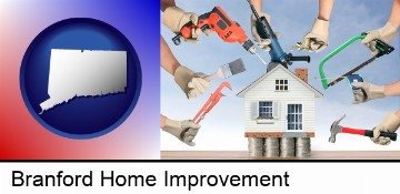 home improvement concepts and tools in Branford, CT