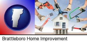 home improvement concepts and tools in Brattleboro, VT
