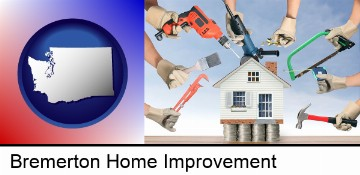 home improvement concepts and tools in Bremerton, WA