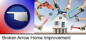 Broken Arrow, Oklahoma - home improvement concepts and tools