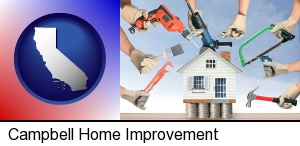home improvement concepts and tools in Campbell, CA
