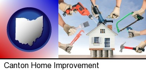 home improvement concepts and tools in Canton, OH