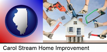 home improvement concepts and tools in Carol Stream, IL