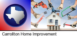 home improvement concepts and tools in Carrollton, TX