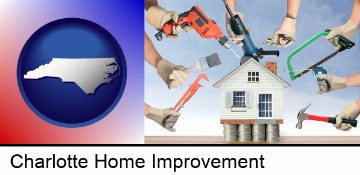 home improvement concepts and tools in Charlotte, NC