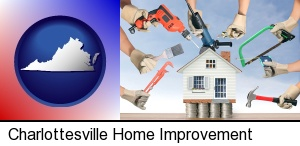 home improvement concepts and tools in Charlottesville, VA