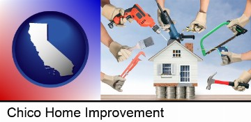 home improvement concepts and tools in Chico, CA