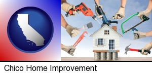 Chico, California - home improvement concepts and tools