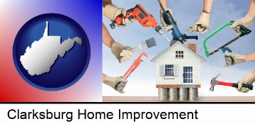 home improvement concepts and tools in Clarksburg, WV