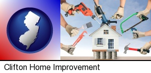 Clifton, New Jersey - home improvement concepts and tools