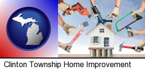 Clinton Township, Michigan - home improvement concepts and tools