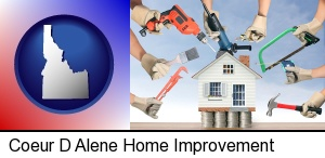 home improvement concepts and tools in Coeur D Alene, ID