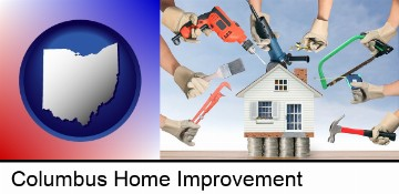 home improvement concepts and tools in Columbus, OH
