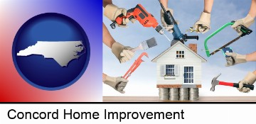 home improvement concepts and tools in Concord, NC
