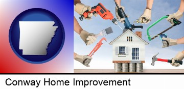 home improvement concepts and tools in Conway, AR