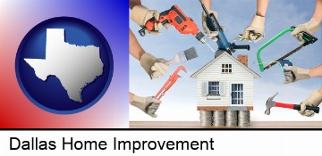 home improvement concepts and tools in Dallas, TX