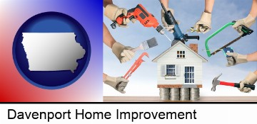 home improvement concepts and tools in Davenport, IA