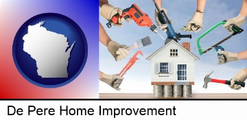 home improvement concepts and tools in De Pere, WI