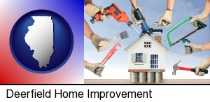 home improvement concepts and tools in Deerfield, IL