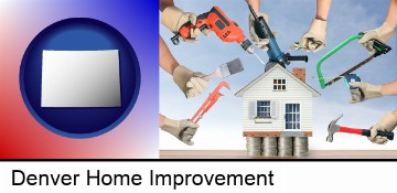 home improvement concepts and tools in Denver, CO