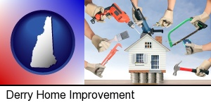 home improvement concepts and tools in Derry, NH