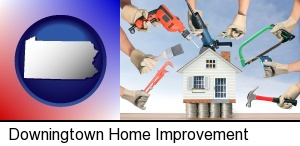 Downingtown, Pennsylvania - home improvement concepts and tools