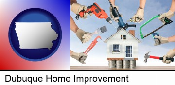 home improvement concepts and tools in Dubuque, IA