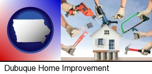 Dubuque, Iowa - home improvement concepts and tools