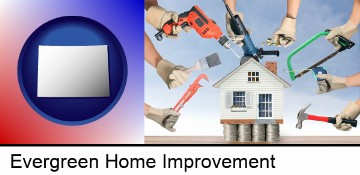 home improvement concepts and tools in Evergreen, CO
