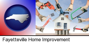 Fayetteville, North Carolina - home improvement concepts and tools