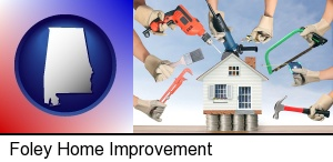 home improvement concepts and tools in Foley, AL