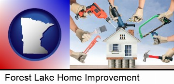 home improvement concepts and tools in Forest Lake, MN