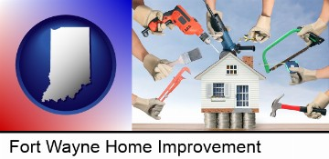 home improvement concepts and tools in Fort Wayne, IN