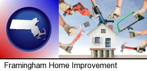 home improvement concepts and tools in Framingham, MA