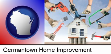 home improvement concepts and tools in Germantown, WI