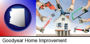 home improvement concepts and tools in Goodyear, AZ